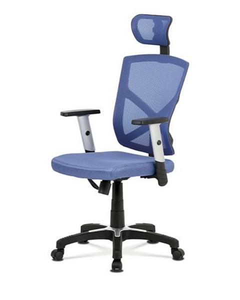 Modrá stolička Sconto