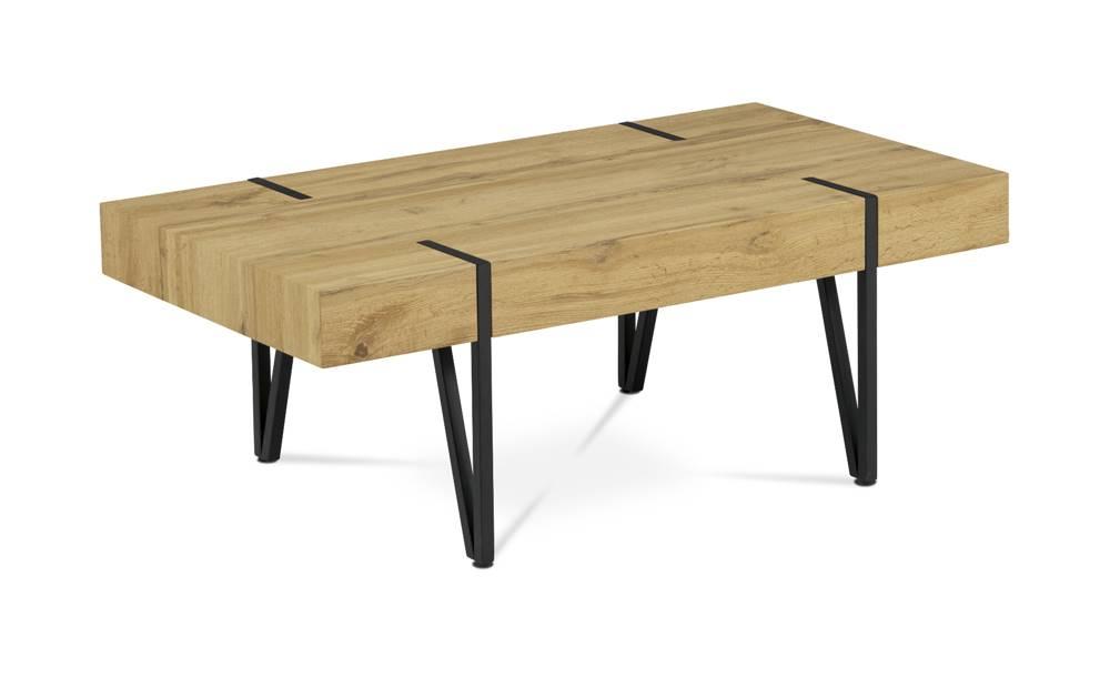 Sconto Konferenčný stolík LAS PALMAS divoký dub/kov